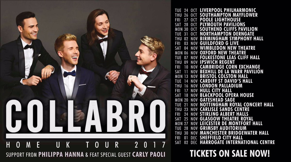 The @Collabro #HOME UK Tour starts 24th October, don&#39;t miss out on a magical evening full of  #MusicalTheatre   Tcx:  http://www. gigsandtours.com  &nbsp;  <br>http://pic.twitter.com/AqfmePzCIR