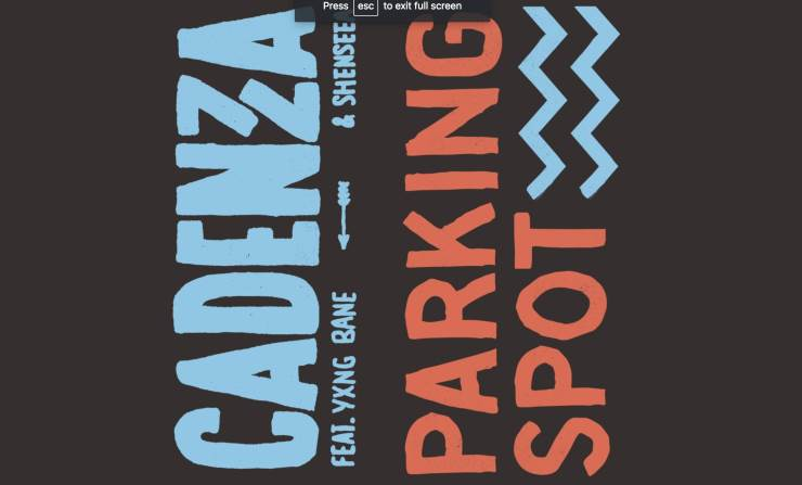 "🚗 @yxngbane & @shenseea20 join @cadenza on ""Parking Spot""  ➡️ https://t.co/snIdTG8lYM https://t.co/OiEF5VAYhp"