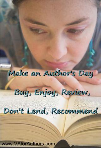 Make an #Authors Day: Buy, Enjoy, Review Don&#39;t Lend, Recommend. #amreading<br>http://pic.twitter.com/lcshXVCw0R