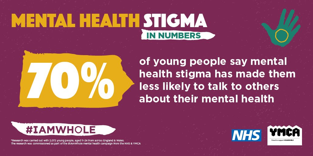Ymca Trinity Group On Twitter What Stigma Around Mental Health