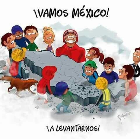 ¡Vamos México! #FuerzaMexico
