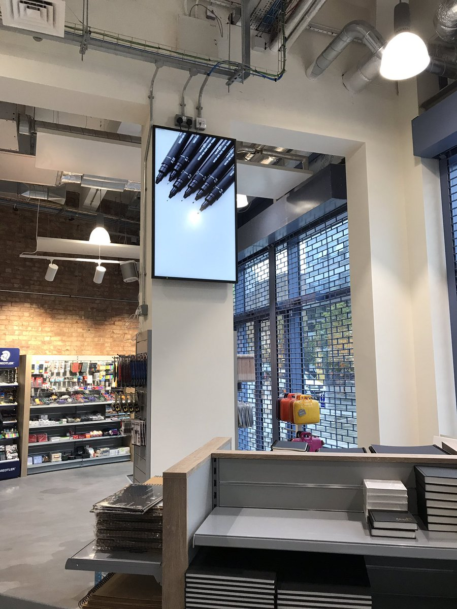 We had the pleasure of going behind the scenes of the NEW #InkWell shop, open Monday 25th! @covcampus @cusu #Freshers #Printing #Cov #CovUni<br>http://pic.twitter.com/vntoIB5WMB