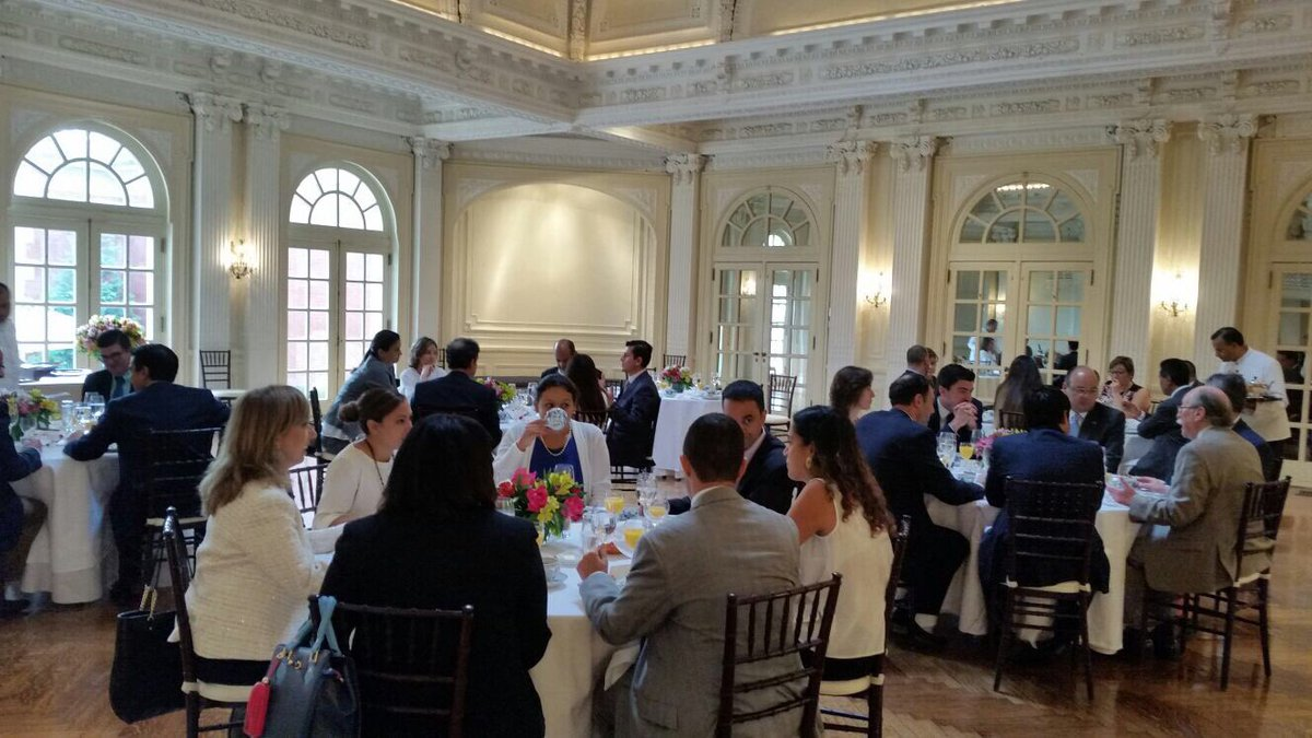 test Twitter Media - TY Amb. Camilo Reyes #Colombia for hosting #AACCLA AmChams for a fruitful conversation on hemispheric business https://t.co/uebMK0RWrr