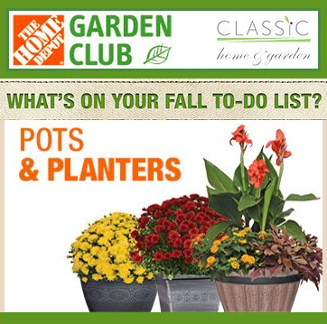 Besides pots for growers, we design #garden pots and #planters for &quot;on shelf&quot; at #HomeDepot. Our #pots featured in today&#39;s Garden Club email<br>http://pic.twitter.com/fcqOELQosN