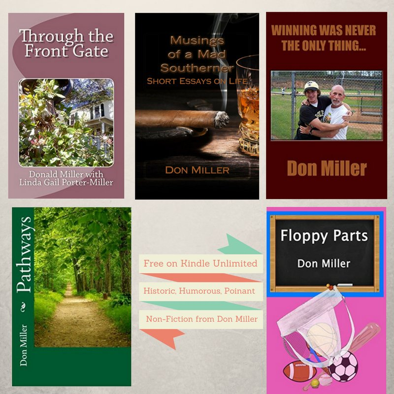 """""""Stories from my Southern heart"""" #Nonfiction from Don Miller at #Amazon. Free on #KU  https:// goo.gl/pL9bpP  &nbsp;   #ASMSG #IARTG #IAN1<br>http://pic.twitter.com/Rr0rVa8l8a"""