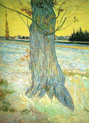 Trunk of an Old Yew Tree #fineart #vincentvangogh<br>http://pic.twitter.com/U7iWN5FZrh
