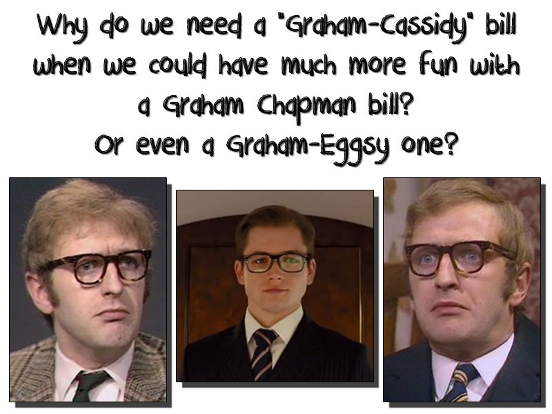 Just a thought... #GrahamCassidy or #GrahamChapman or even #GrahamEggsy / #Kingsman  ?<br>http://pic.twitter.com/XTDwLEHvrG