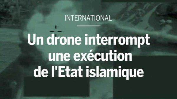 Un drone de l'armée britannique interrompt une exécution de l'EI en Syrie https://t.co/igxv6HsnKx #Syrie