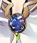 小ネタなのですが、オリジン隼様の胸元の宝石は「地球」ですツキ。 大切にしてくれているんですね。 #エア舞台オリジン #おやすみなさい