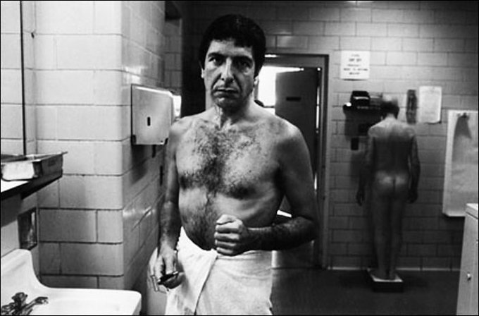 Leonard Cohen in rare suit-less photos from 1972. Happy Birthday Leonard!