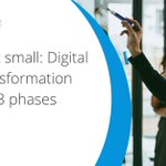 Learn the 3 phases of our #digitaltransformation framework and why we introduce certain aspects when we do. https://t.co/8cKgInhFux