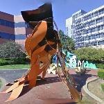 &#39;Pittsburgh Variations&#39; by George Sugarman #StreetView  http:// vgt.me/mMn8  &nbsp;  <br>http://pic.twitter.com/yGZgB8B8Xu
