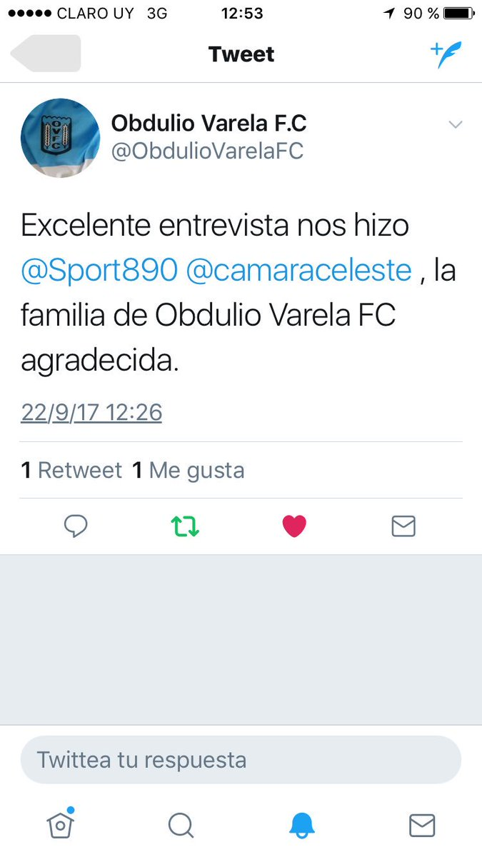 Obdulio Varela F C ObdulioVarelaFC