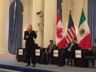 For #fruits &amp; #vegetables #trade is vital per Nancy Tucker of @pma with 260,000 jobs in #USA @IICA_USA #TLCAN<br>http://pic.twitter.com/B3AGDP5vaz