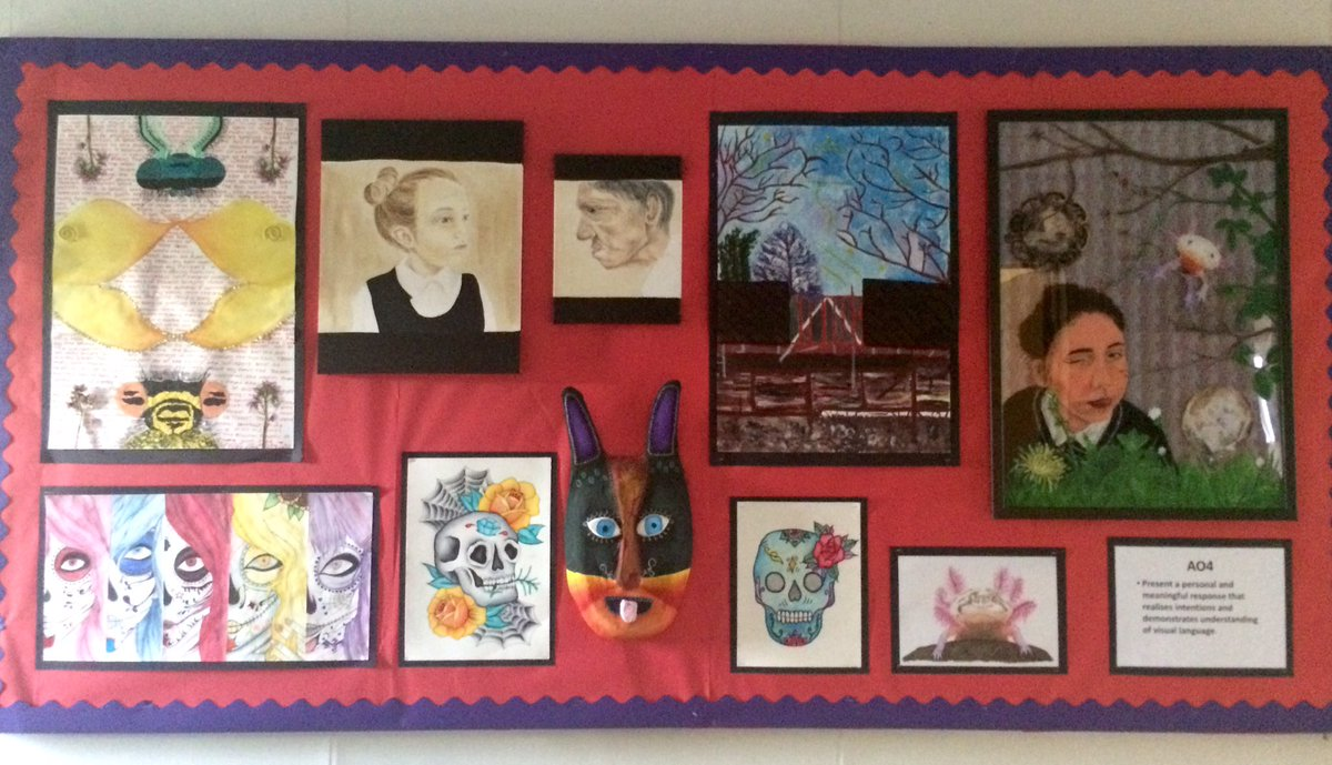 Spent some time making a new display! We have some very talented students @FeatherstoneAca!