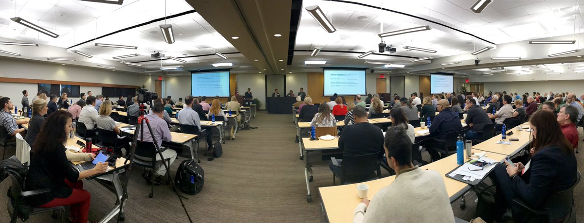 At #SDGBCE17 w/ @measurabl COO Dana Arnold, Will Burckart of @TIIP_Insights, and Bryan Esterly of @SASB on #ESG measurements &amp; disclosures <br>http://pic.twitter.com/uuYSpU67Ka