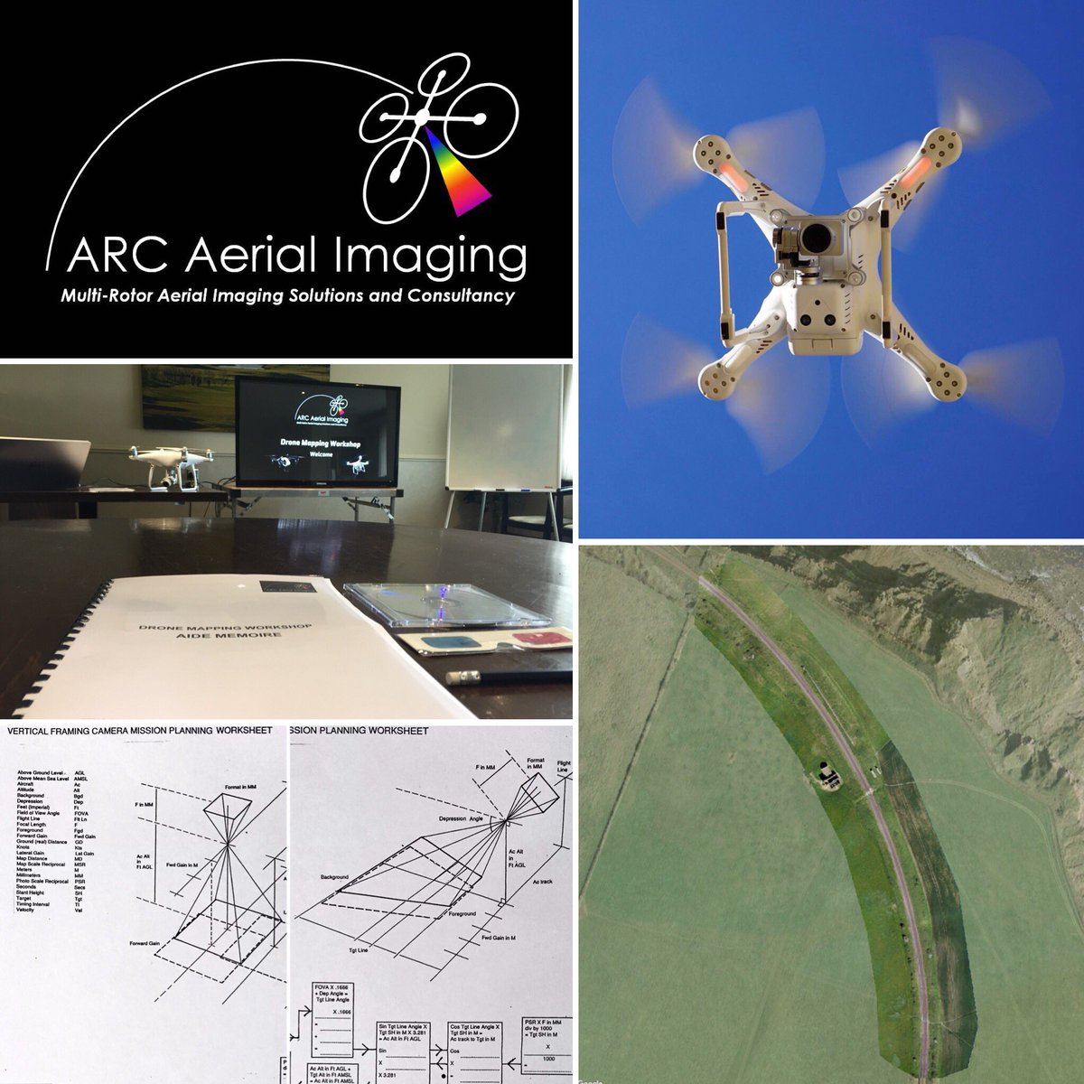Accurately planned #drone #aerialimaging provides great #mapping results. Book a place on a #dronemapping #workshop.  http://www. arcaerialimaging.com/drone-mapping- workshop/ &nbsp; … <br>http://pic.twitter.com/d6mRJwcn4P