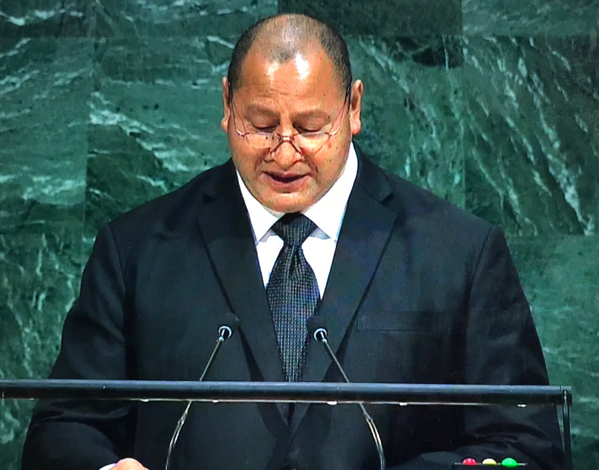 HM King Tupou VI of #Tonga  &quot;#We may be a Small Island State but all #SIDS are #LargeOceanStates.&quot; #UNGA   http:// statements.unmeetings.org/GA72/TO_EN.pdf  &nbsp;  <br>http://pic.twitter.com/DPKDntsPkt