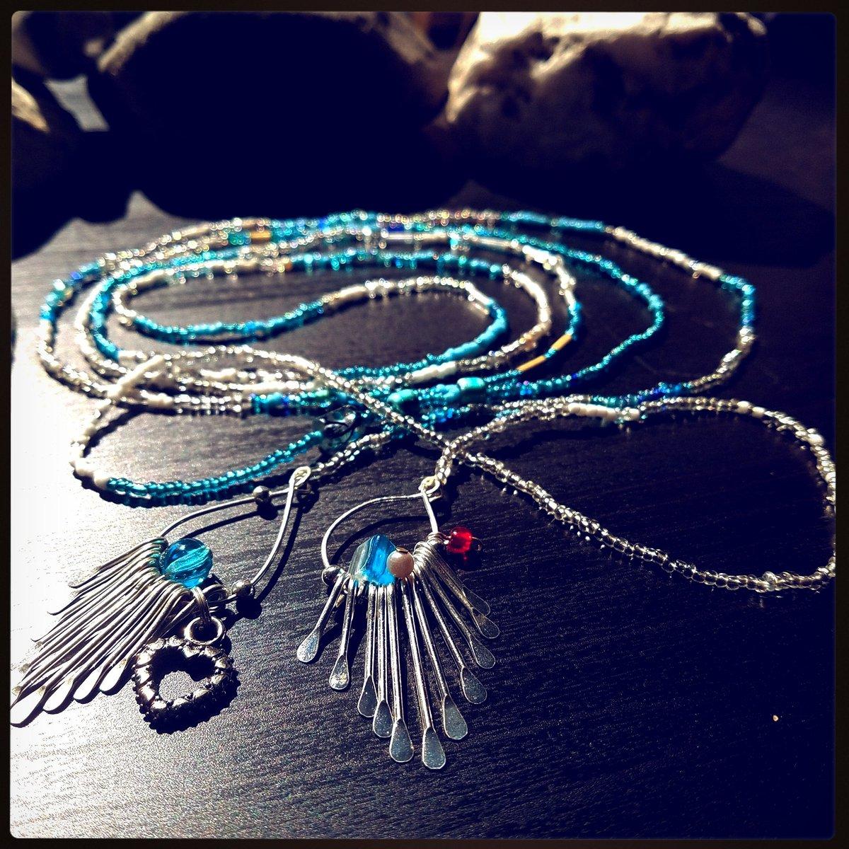 #blue #lariatnecklace before its added to inventory. Pm if interested! #etsyRT #etsyretwt #epiconetsy #etsyspecialt #bohojewelry #bohostyle<br>http://pic.twitter.com/JqMPNrY0wA