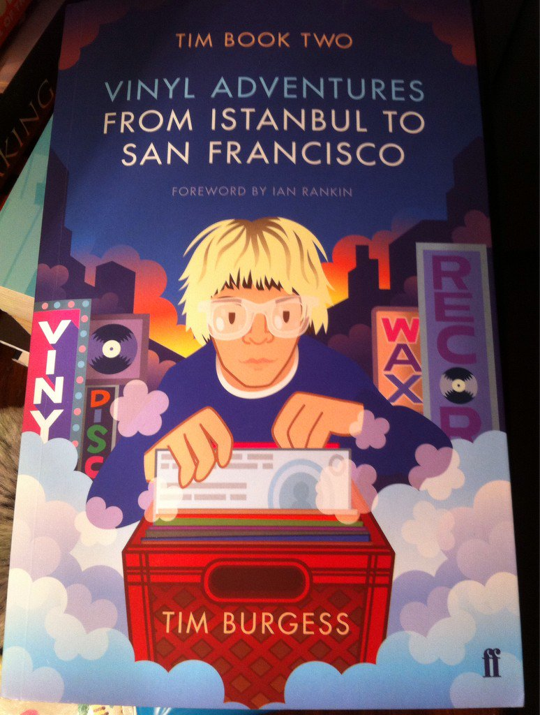 Great to see @Holtvinylvault name-checked in @Tim_Burgess book. Now no longer a post-office, of course.
