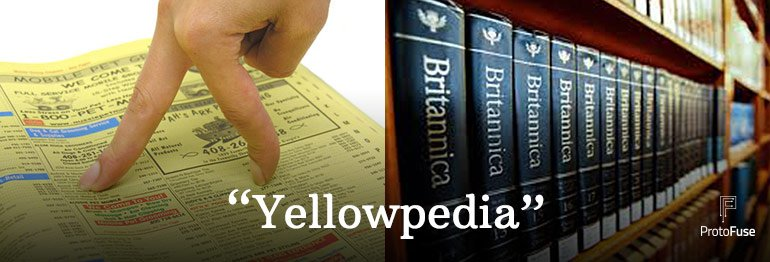 """You could say that search engines are today's """"Yellowpedia&quot; :) #searchengines #wordplay #seo #sem<br>http://pic.twitter.com/H8HSDWUAR7"""