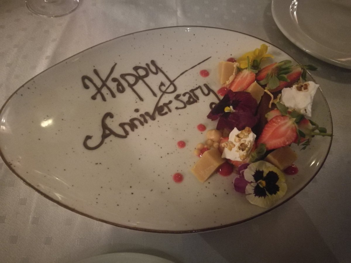 @MaximillienRest Thank You for making our #dinner special @Rushka_1 #Anniversary