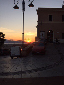 Glorious sunset @CaffedeCandia @sardinia_in #Cagliari <br>http://pic.twitter.com/mav2txjdDy