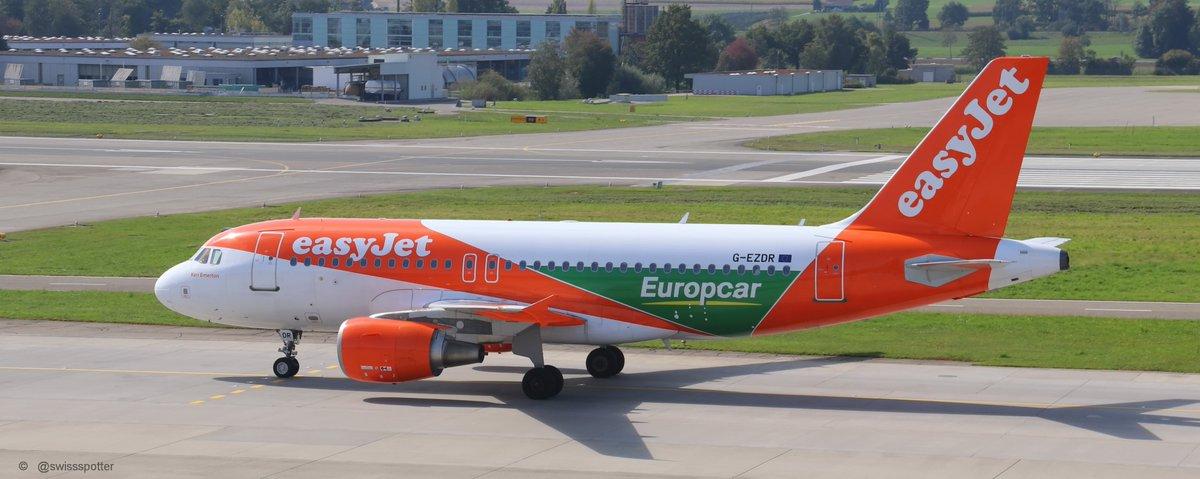 Swiss Spotter On Twitter Easyjet Europcar Livery G Ezdr