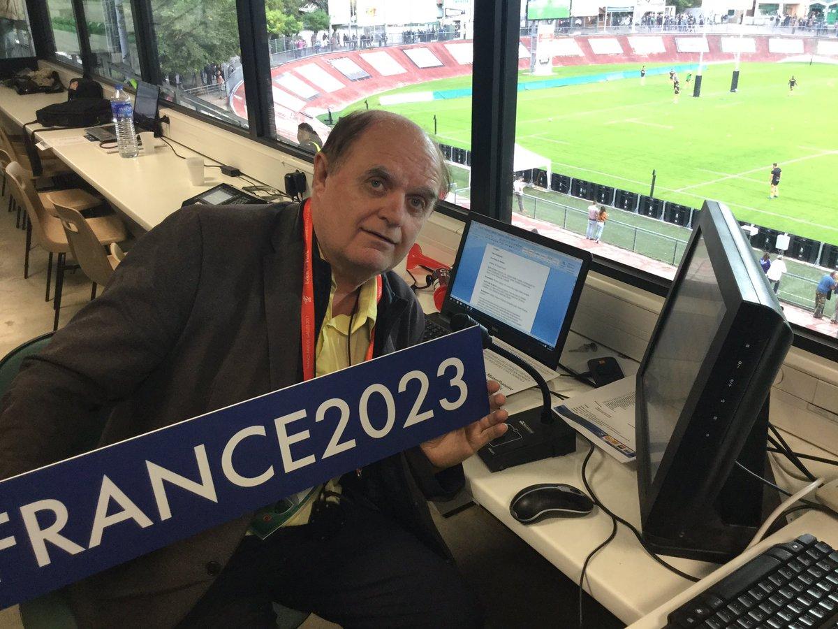 À Sapiac, on soutient #France2023 ! @LNR...