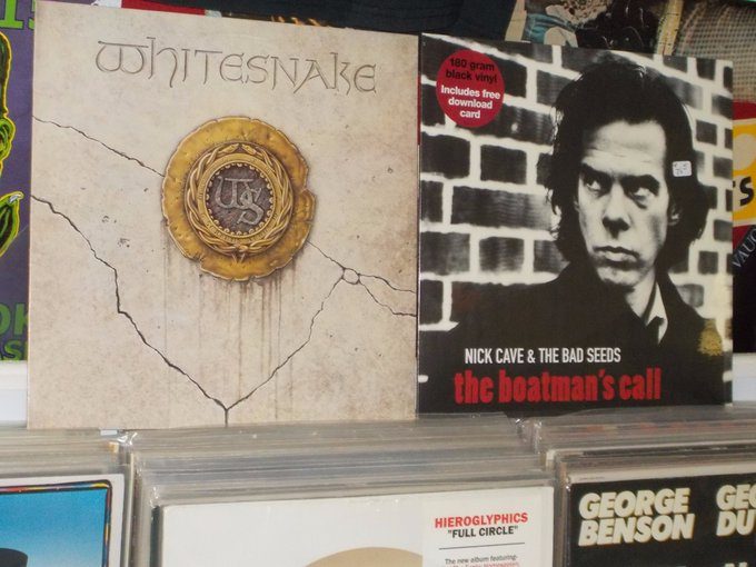 Happy Birthday to David Coverdale of Whitesnake (& Deep Purple) & Nick Cave