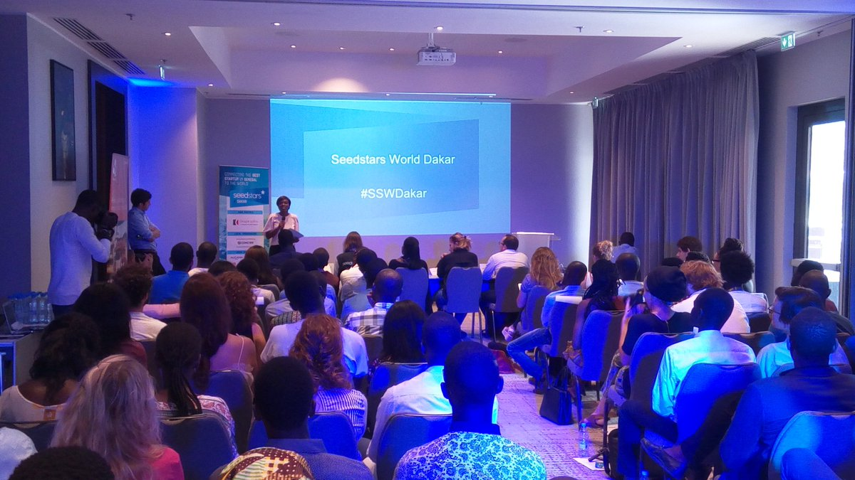 Live from the @PullmanDakar for #sswdakar @LaissaMouen representing @GROUPECOFINA on the stage! @Seedstars #kebetu <br>http://pic.twitter.com/FVN2yrT5jH