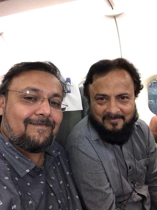 With @SareshwalaZafar around, time flies faster than the flight. https://t.co/tpjbJkGFAP
