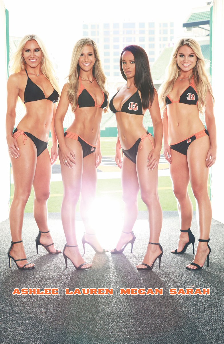 Cincinnati bengals cheerleaders megan right!