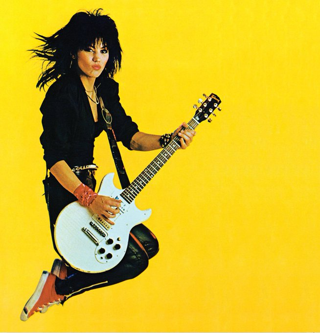 A big SHOUT out to the queen - Happy birthday to the one & only Joan Jett!!!