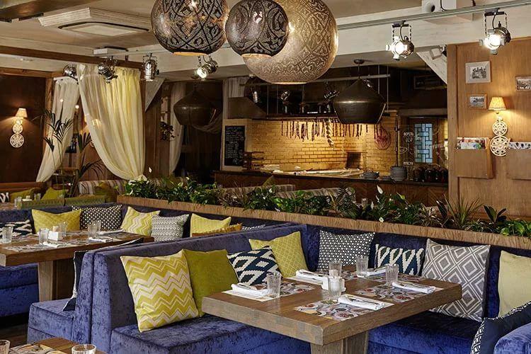 Рестораны в адмиралтейском районе питера