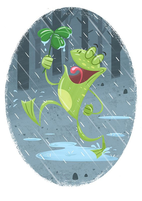 #colour_collective My contribution for this weeks colour! #pewterblue #kidlit #frog #illustration<br>http://pic.twitter.com/PH2EFAJ9AV