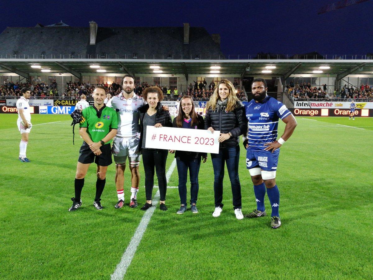 Le RCV soutient #FRANCE2023   #rugbyprod...