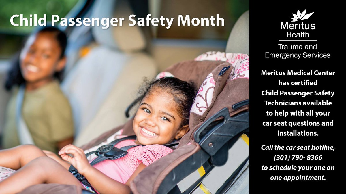 Meritus Health On Twitter Do You Know The Maryland Laws For Child Passenger Safety Click Here Tco OO0Wjxq3v1