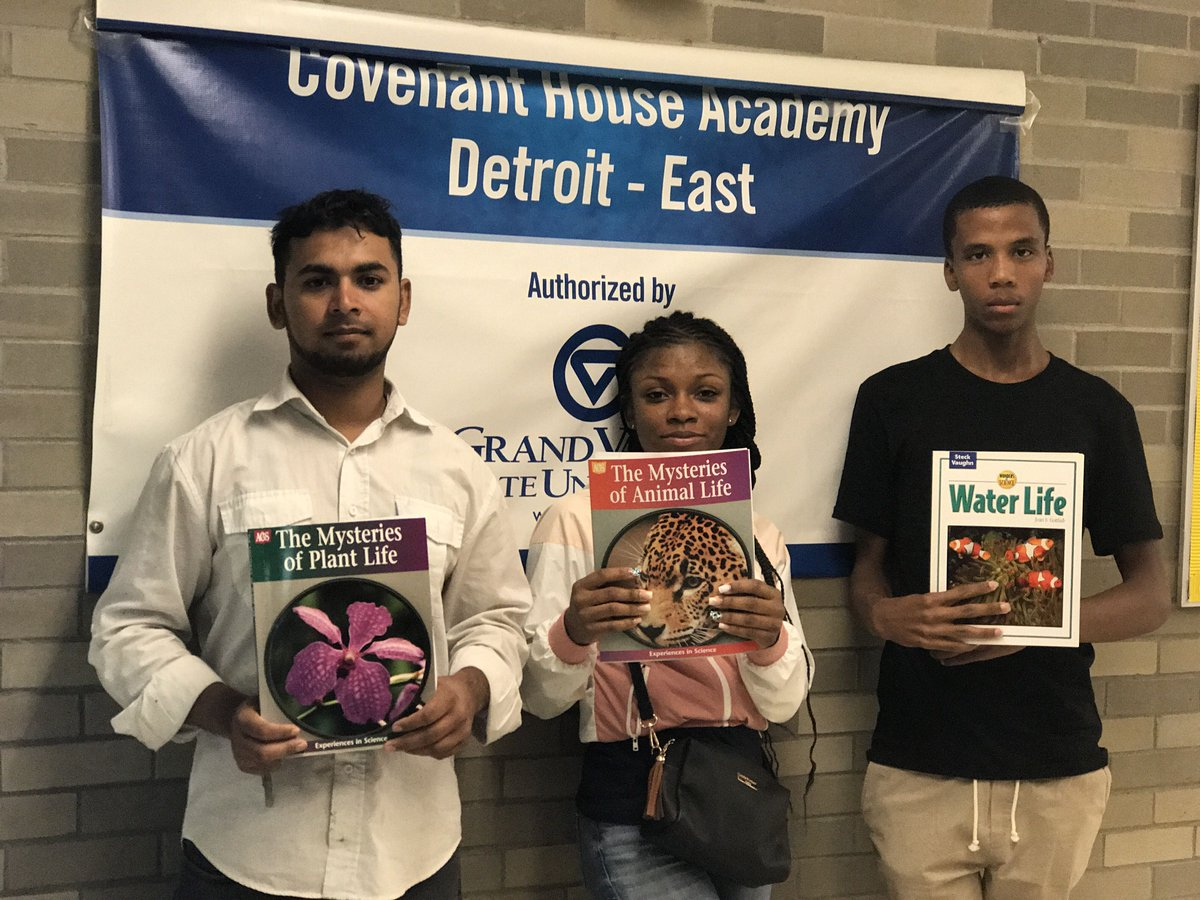 At Covenant House Academy, our students are motivated to learn and grow.  These are some of the books. #learn #important #back2school <br>http://pic.twitter.com/0vGT9X6ENL