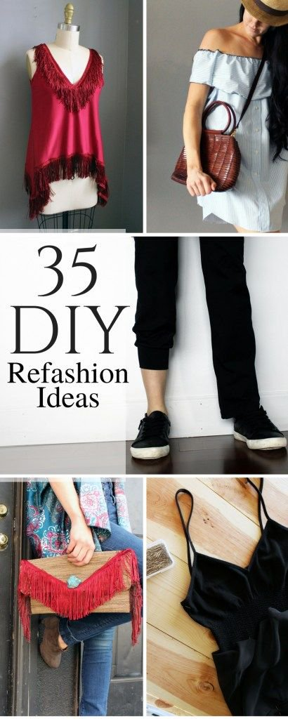 The 35 Best Refashion  Ideas of 2017:  https:// buff.ly/2vooSGn  &nbsp;   #Refashion #DIYBlog #FashionDIY #ClothesDIY #CreativeProject #MakeThis #DIY<br>http://pic.twitter.com/7aeRVaLEE3