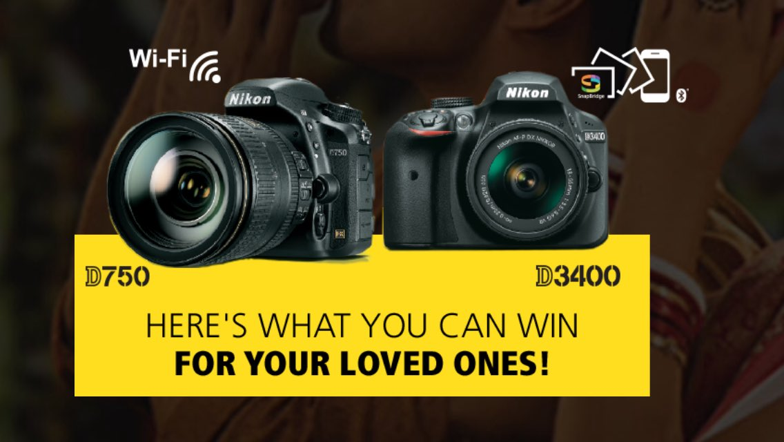 #ContestAlert: This Durga Puja, win #Nikon cameras for your Loved ones.  Follow us &amp; Retweet. #Contest details:   http:// bit.ly/Festive-17  &nbsp;  <br>http://pic.twitter.com/pNNl4Tkbhn