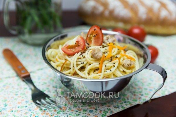 Рецепт спагетти по итальянски
