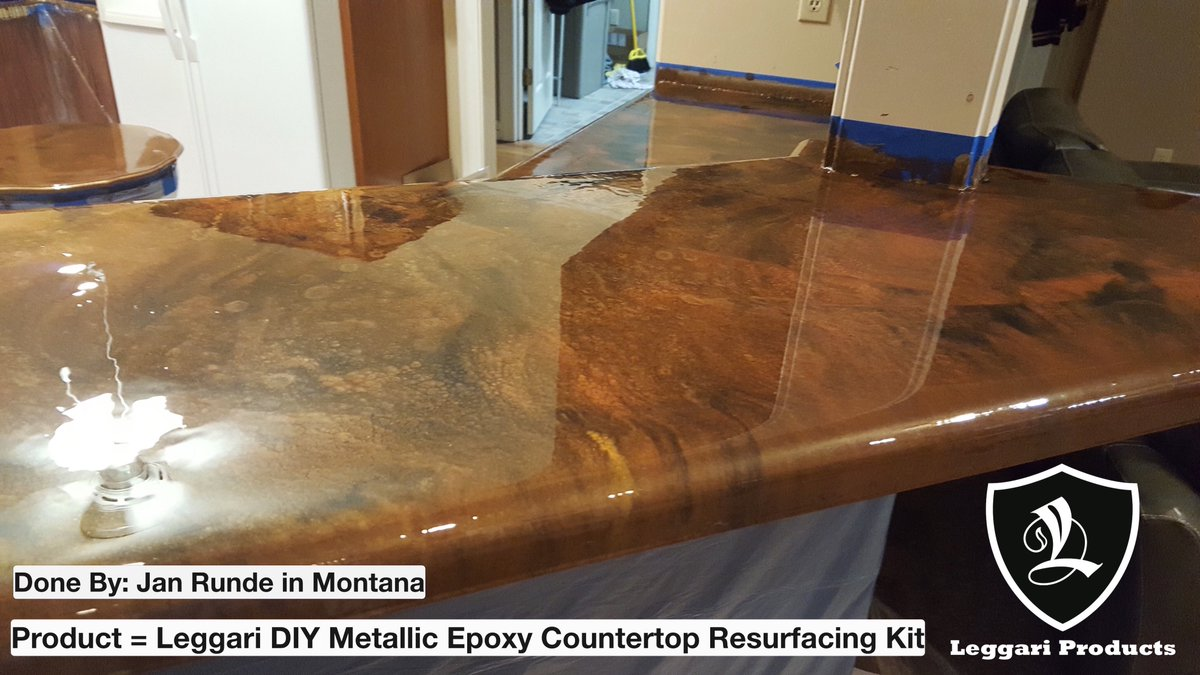 Leggari Products On Twitter Countertop Kit With Customizable Colors Great Color Choice Jan Diy Homeremodel Countertopresurface Epoxy Epoxyresin Leggariproducts Https T Co 3cfkunizfr