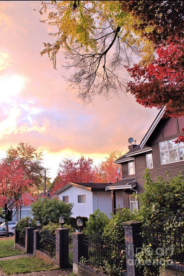 Autumn In The City 14 by Victor K  https:// buff.ly/2hl5qIn  &nbsp;   #wallart #art #cards #home #style #fall #trees #leaves #colors #landscape #scenic<br>http://pic.twitter.com/JWyDlgYIjK