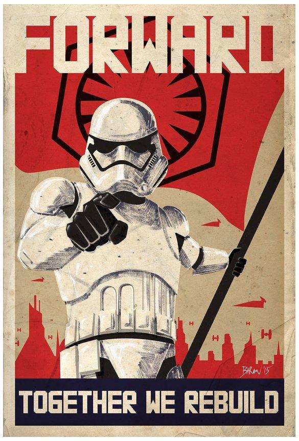 Stormtroopers poster plakat