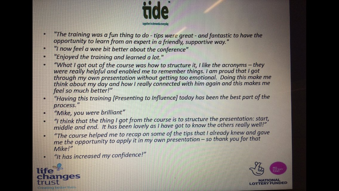.@tide_carers investing in the personal development of #carers of #pwd to share their expertise! The system needs to listen, respect &amp; act! <br>http://pic.twitter.com/kFGXhnt6ro