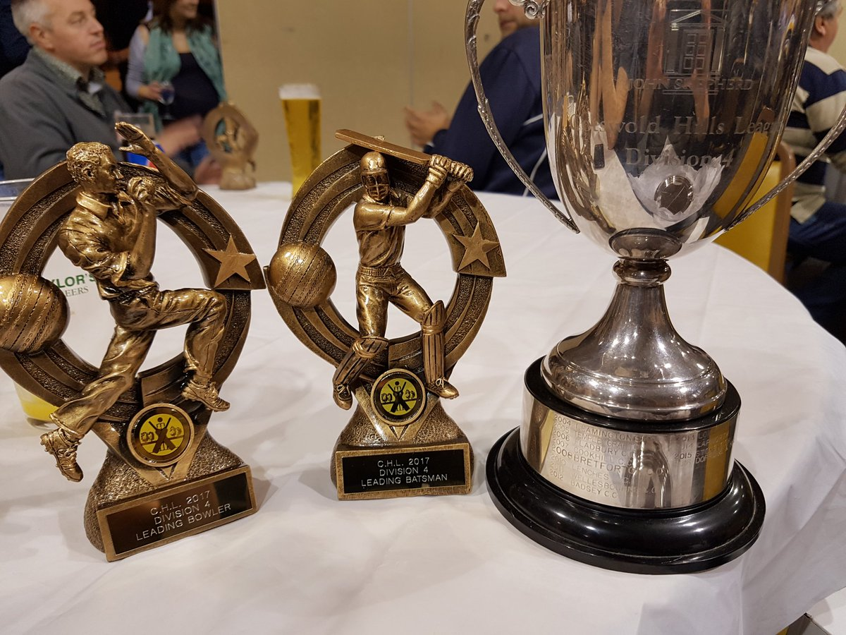 Leading Bowler - @rawlinde  Leading Batsman - @Sam_Keen87  League winner&#39;s trophy! #Champions #Cricket #Bowling #Batting<br>http://pic.twitter.com/u2jcfXTxhG
