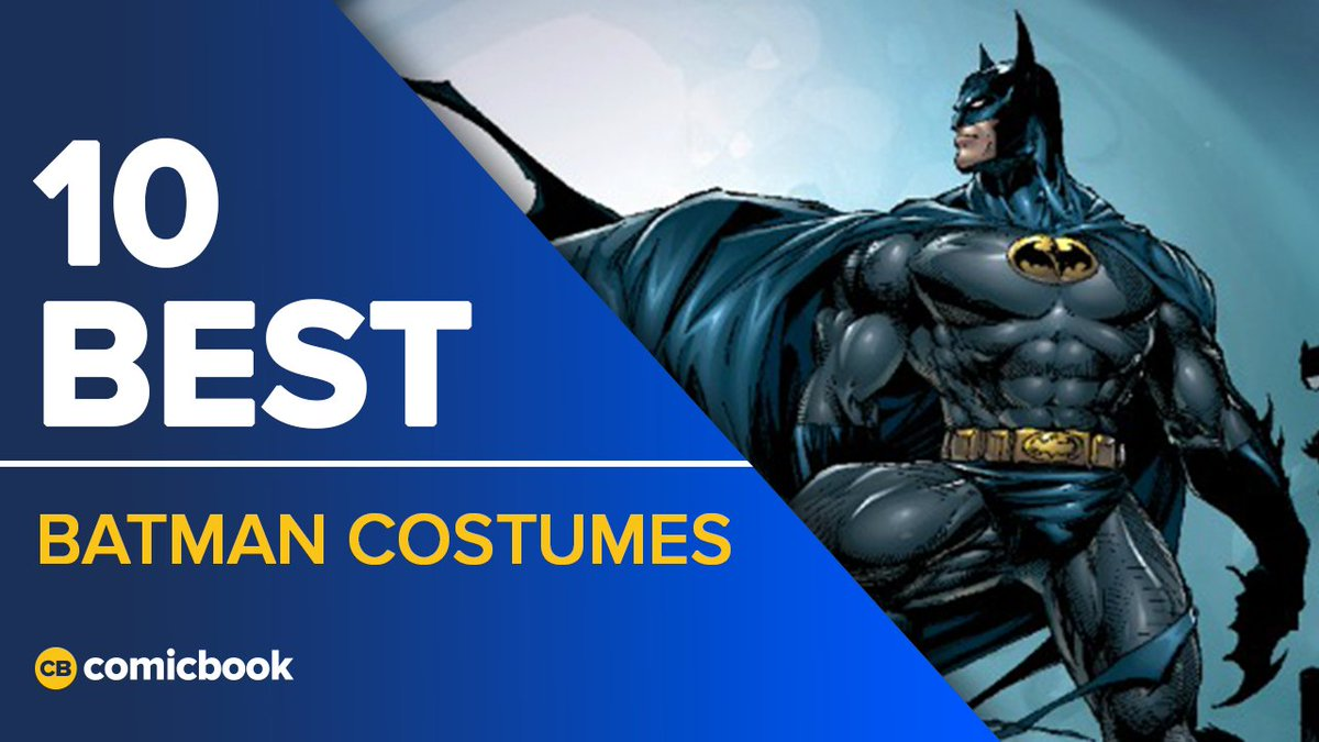 In honor of #BatmanDay, we're ranking the 10 best #Batman costumes! Wh...
