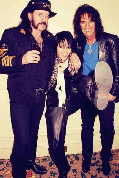 Happy Birthday Joan Jett keep on Rocking and Rolling