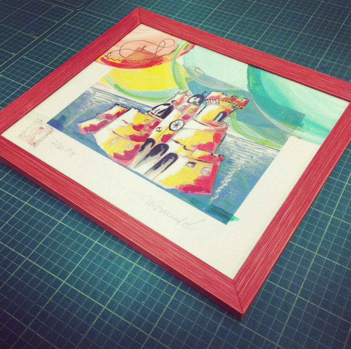 Bespoke hand washed and finished #printandframeit #luton  #framer #framing <br>http://pic.twitter.com/q3FTqACVX2